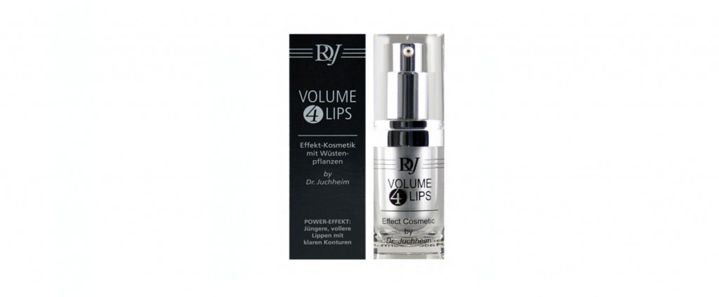 Volume 4 Lips Booster von Dr. Juchheim