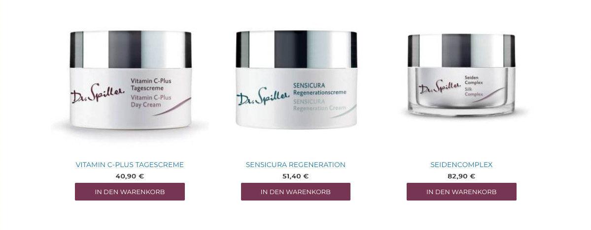 Unser Online Shop von Kosmetik & Bodyform