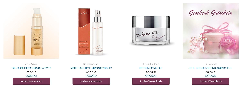 Kosmetik & Bodyform Online Shop ausgewählte Angebote im Mai 2020